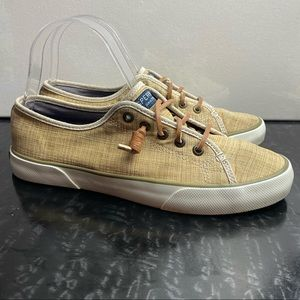 Sperry Pier View Crosshatch Boat Shoes